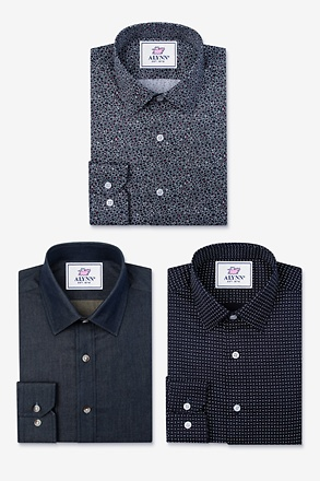 _The Darkside Untuckables Black Shirt Pack_