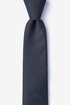 _Tiffin Black Skinny Tie_