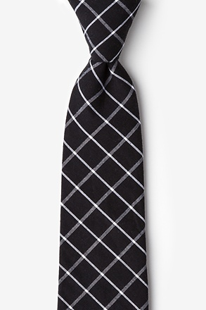 Tucson Black Extra Long Tie