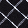 Black Cotton Tucson Pocket Square