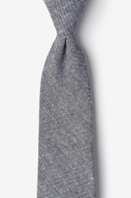 Westminster Black Extra Long Tie Photo (0)