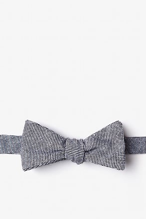 _Westminster Black Skinny Bow Tie_
