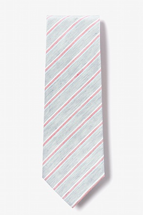 Black Port Jefferson Extra Long Tie