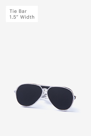_Aviator Sunglasses Tie Bar_