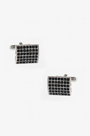Bejeweled Boxed Rectangle Cufflinks