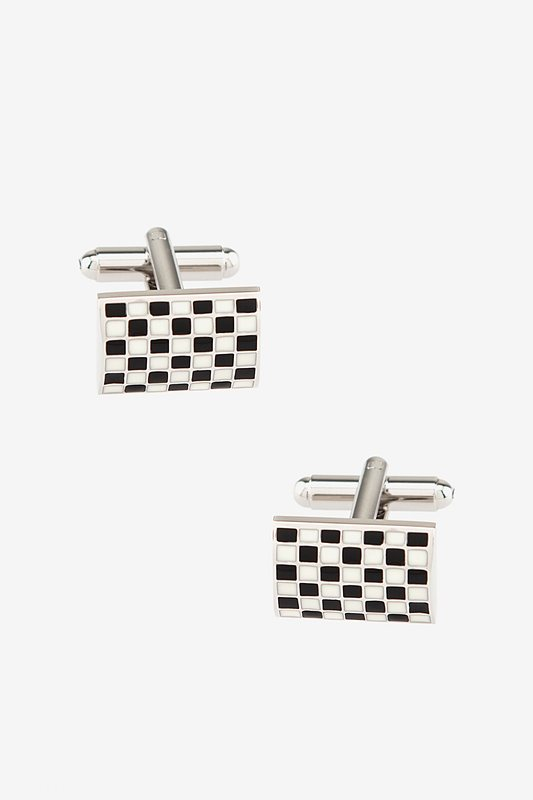 Checkered Flag Cufflinks Photo (0)