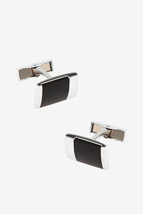 Colton Black Cufflinks