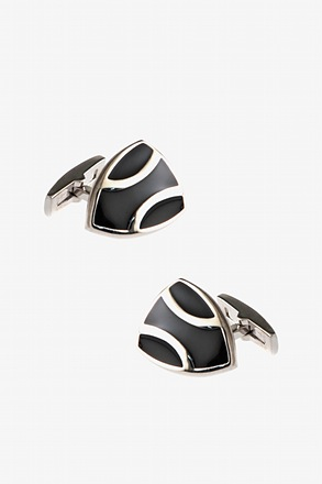 _Decorated Shield Cufflinks_