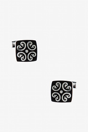 Decorated Square Cufflinks