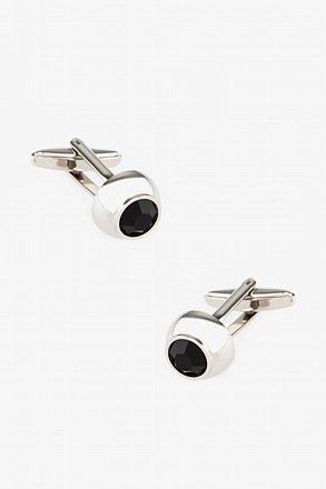 Embellished Dome Cufflinks