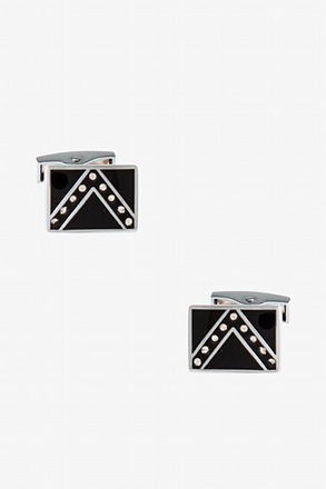 Embellished V Cufflinks