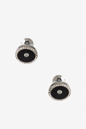 Fancy Round Peak Cufflinks
