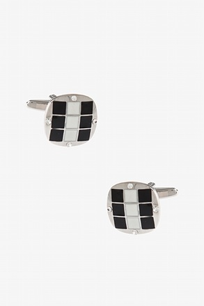 Fancy Square Pattern Cufflinks