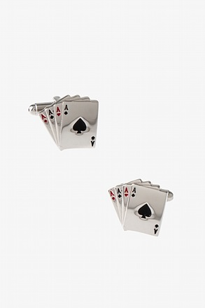 _Four Aces Cufflinks_