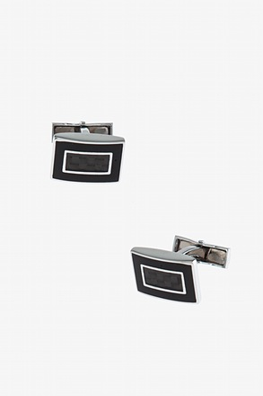 Framed Rectangle Cufflinks