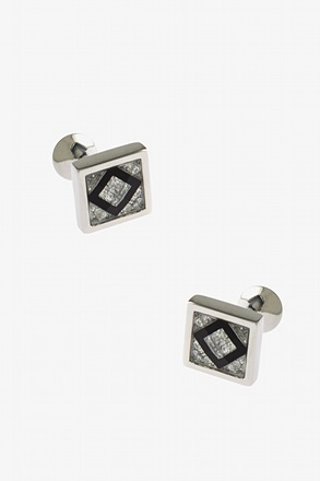Framed Square Peak Cufflinks