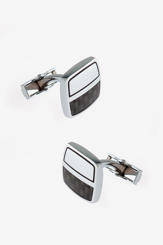 Futuristic Half Square Cufflinks Photo (0)