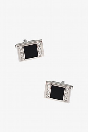 Gem Box Black Cufflinks