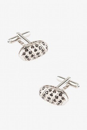 Gem Enrobed Cufflinks