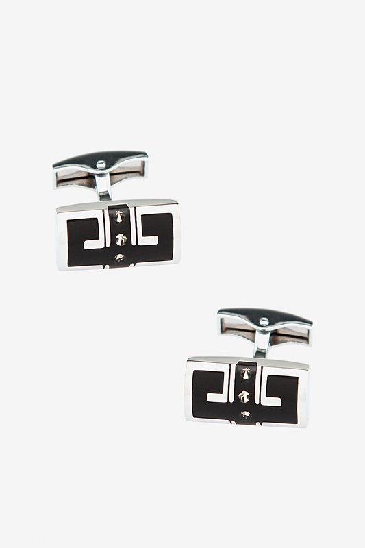 Gemstone Geo Cufflinks