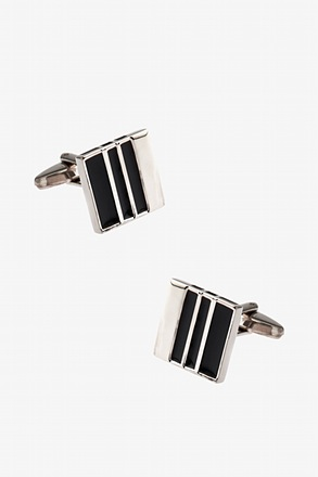 _Intermittence Square Cufflinks_
