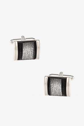 James Rounded Rectangle Cufflinks