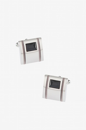 Jameson Gem Square Cufflinks