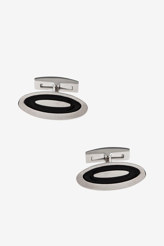 Lengthened Oval Cufflinks Photo (0)