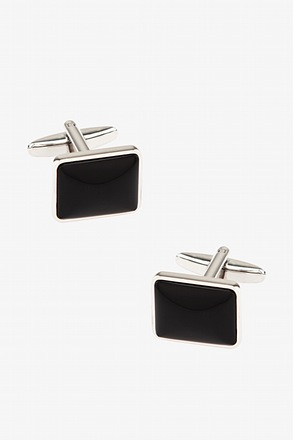 Opaque Rounded Rectangle Cufflinks