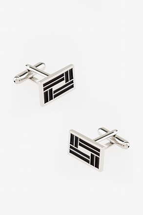 Overlapping Lines Cufflinks