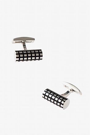 Patterned Bar Cufflinks