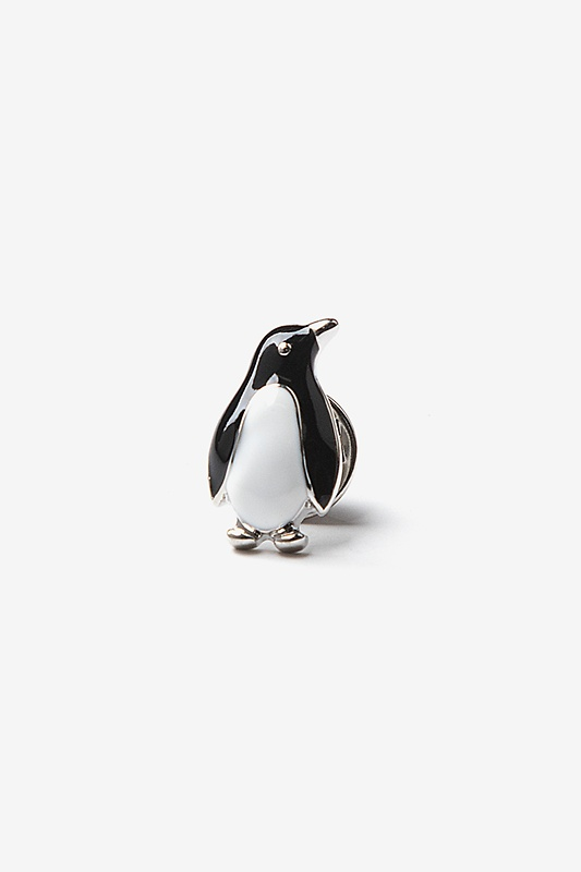 Penguin Black Lapel Pin Photo (0)
