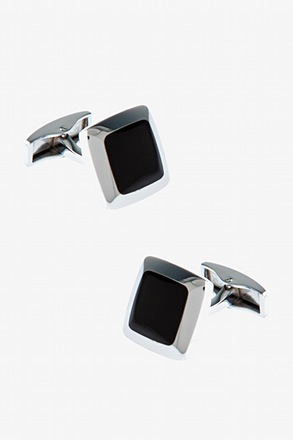 _Pillow Square Cufflinks_