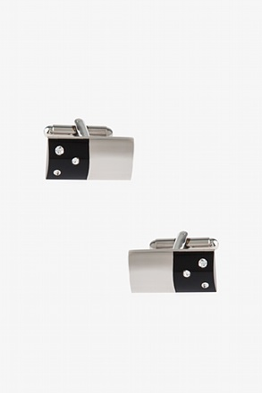 Rounded Domino Cufflinks