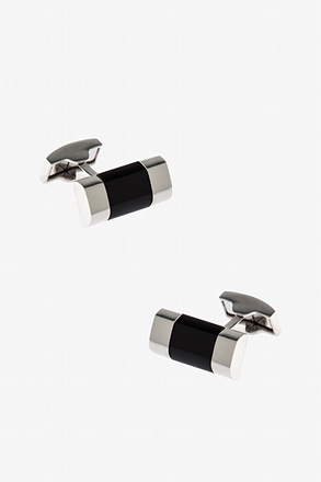 Solid Double Bar Cufflinks