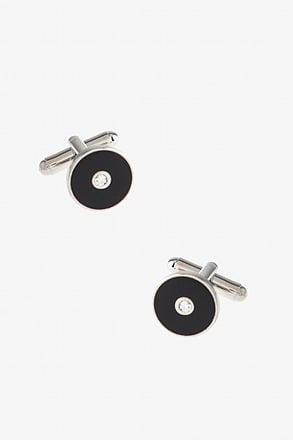 _Sparkling Dot Cufflinks_