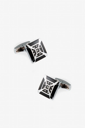 _Splashy Frame Cufflinks_