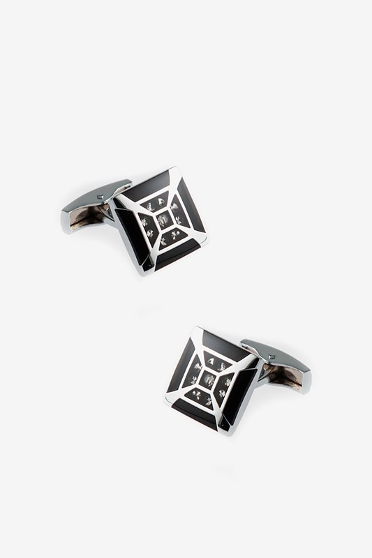 Splashy Frame Cufflinks Photo (0)