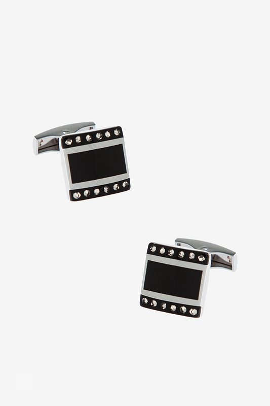Symmetrical Gems Cufflinks Photo (0)