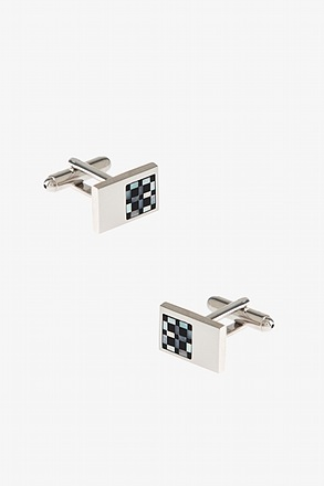 Touch of Check Cufflinks