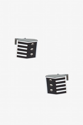 Unique Patterned Square Cufflinks