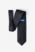 Bats Black Extra Long Tie Photo (1)