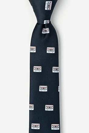 Cassette Tapes Skinny Tie
