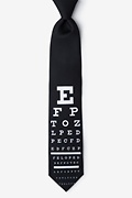 Eye Chart Tie Photo (0)