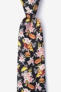 Fast Food Floral Extra Long Tie Photo (0)