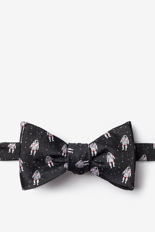 Floating Astronauts Self-Tie Bow Tie Photo (0)
