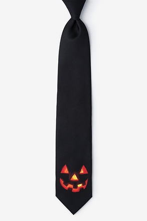 _Jack O Black Extra Long Tie_