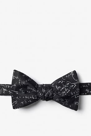 _Math Equations Self-Tie Bow Tie_