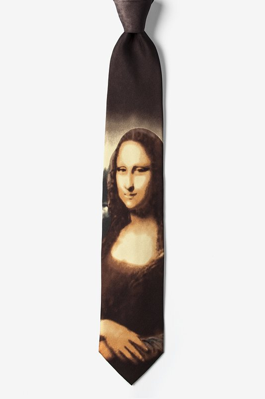 Mona Lisa - Da Vinci Tie Photo (1)