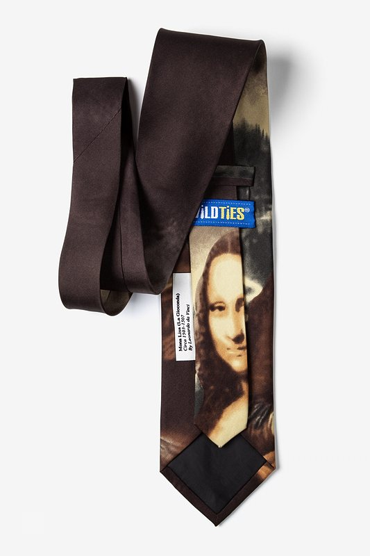 Mona Lisa - Da Vinci Tie Photo (2)